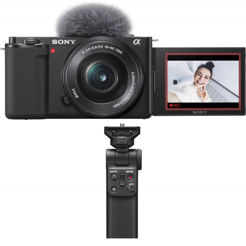Sony ZV-E10 + 16-50mm Kit + käepide