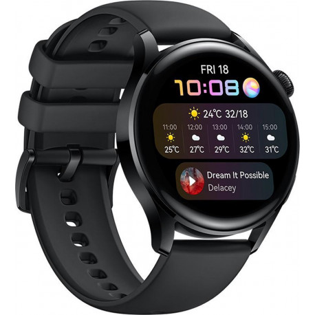 Huawei Watch 3 Active Edition, black