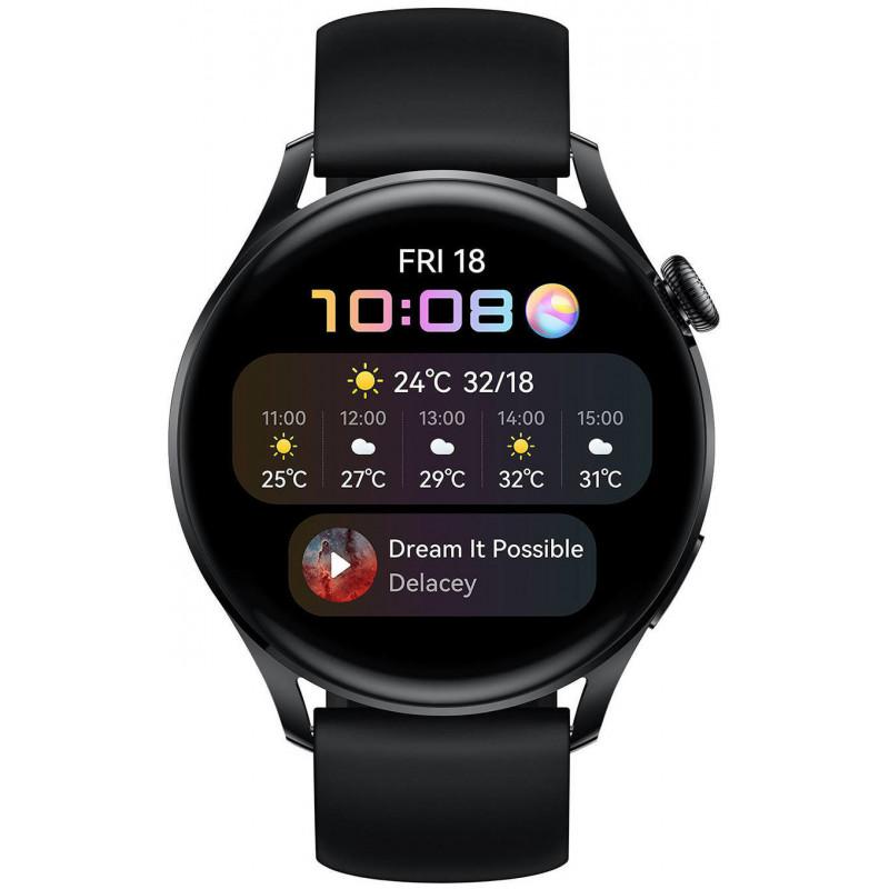 Huawei Watch 3, black