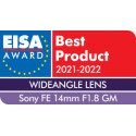 Sony 14mm f/1.8 GM objektiiv