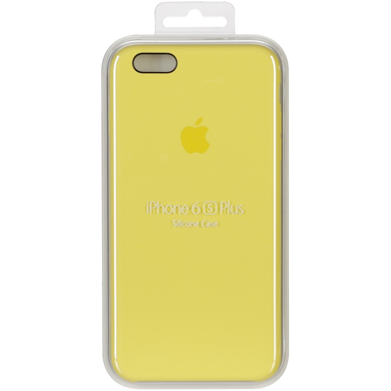 separation shoes 7cbf2 ed8ab Apple Silicone Case iPhone 6S Plus, yellow