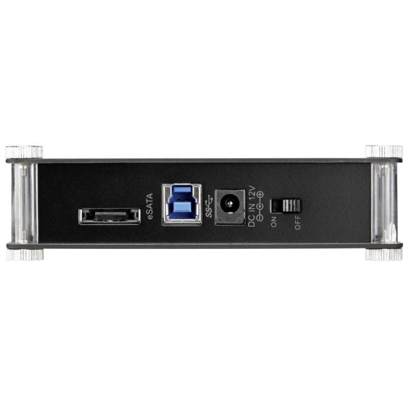 RaidSonic ICY BOX IB-351StU3S-B 3,5  USB 3.0 / eSATA   housing