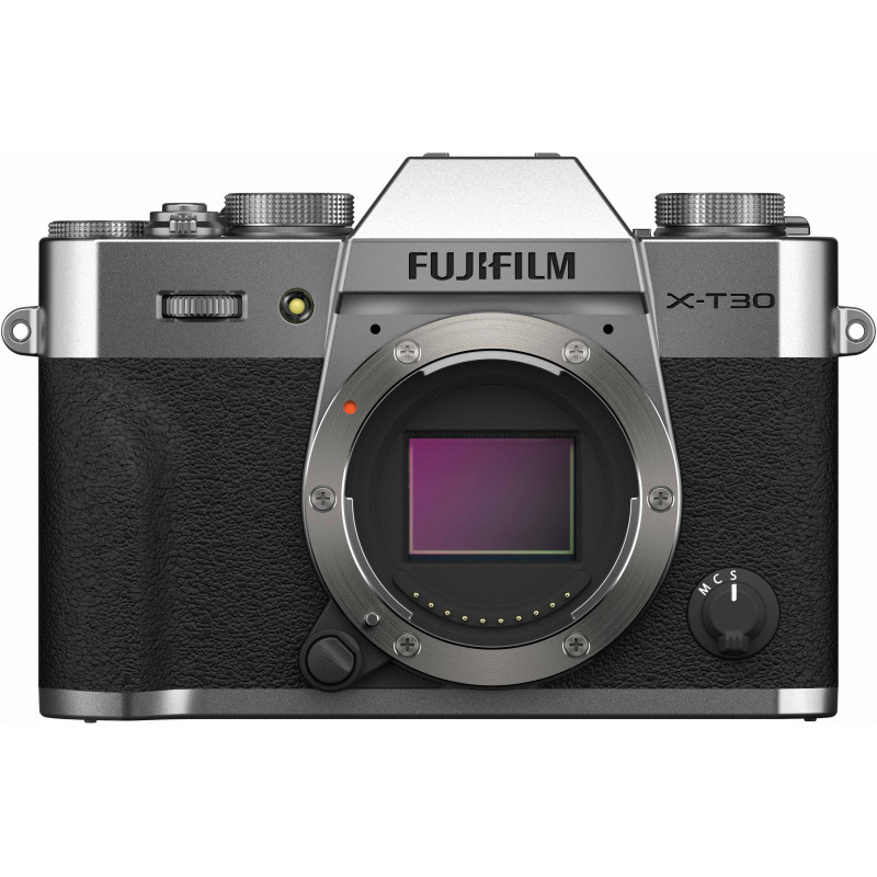Fujifilm X-T30 II kere, hõbedane