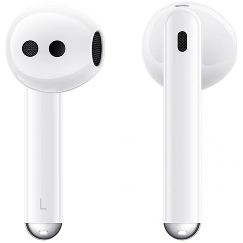 Huawei juhtmevabad kõrvaklapid + mikrofon FreeBuds 4, valge
