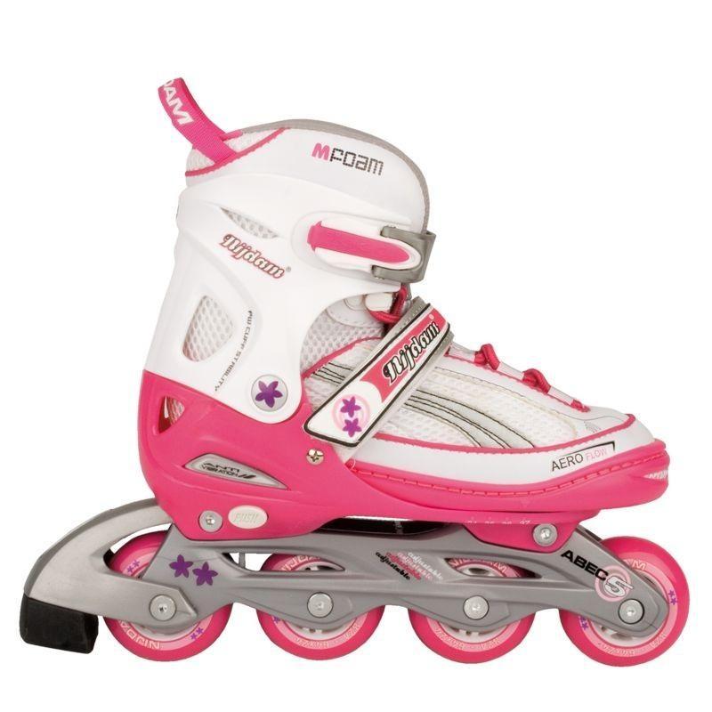 bff47ca9536 Inline Skates Junior Adjustable Semi-Softboot Nijdam - Rollerblades ...