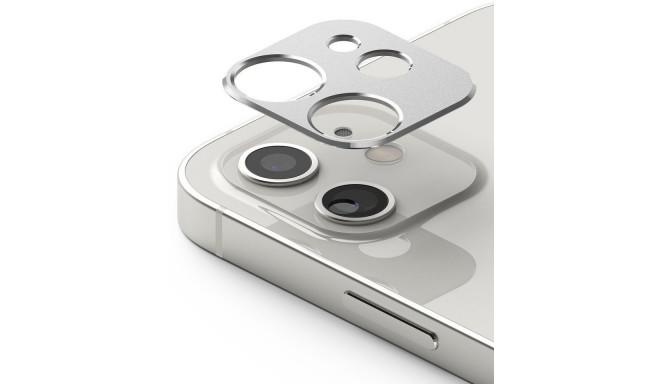Ringke telefonikaamera kaitseraam Apple iPhone 12, hõbedane (ACCS0010)