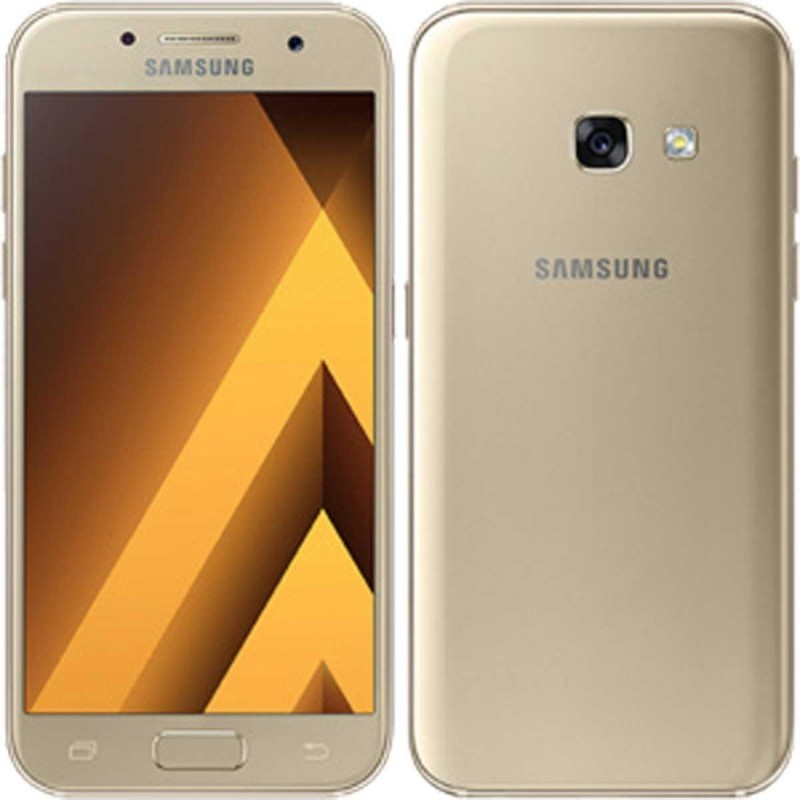 samsung galaxy a3 2017 16gb gold smartphones photopoint. Black Bedroom Furniture Sets. Home Design Ideas
