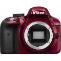 Nikon D3300 + Tamron 18-200mm VC, punane