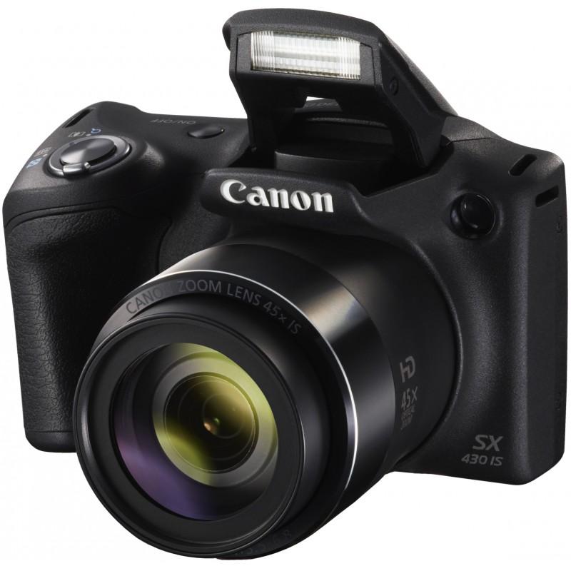 Canon PowerShot SX430 IS, black