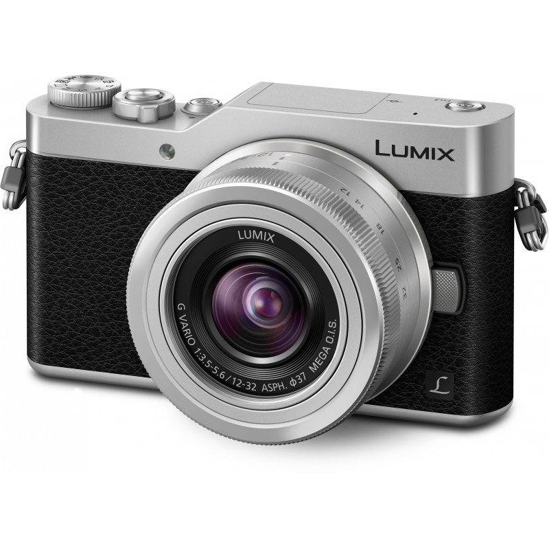 Panasonic Lumix DC-GX800 + 12-32mm Kit, black/silver