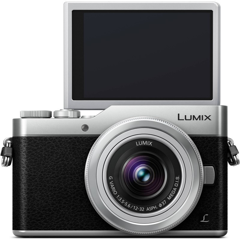 Panasonic Lumix DC-GX800 + 12-32mm Kit, must/hõbedane