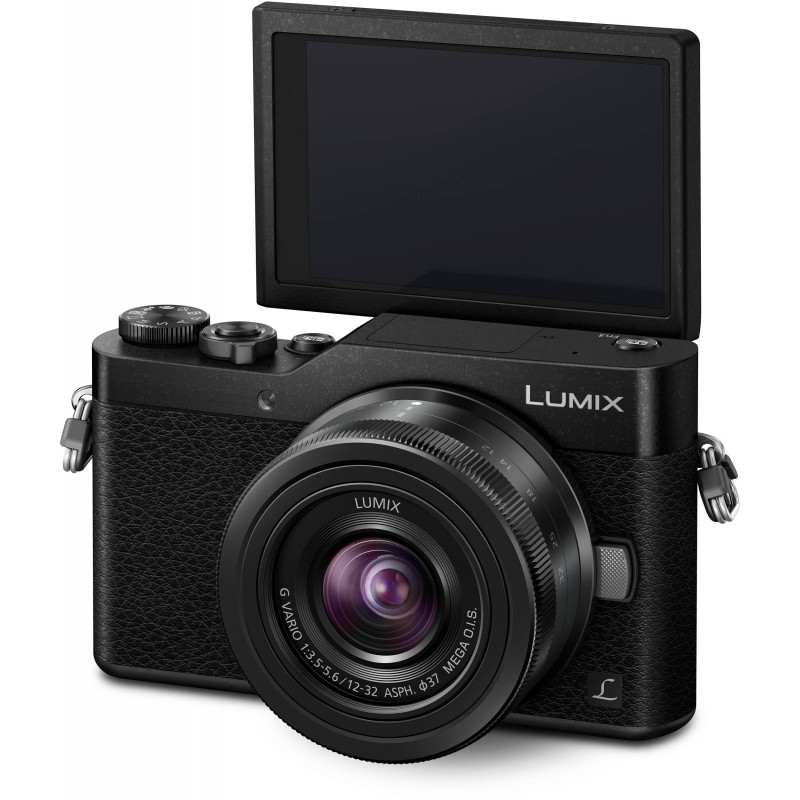 Panasonic Lumix DC-GX800 + 12-32mm Kit, black