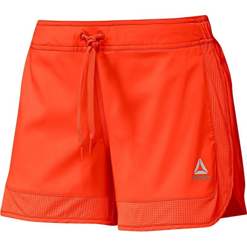 fe7a4bb722be Women s sports shorts Reebok Workout Ready Woven Mesh Details W BK4969