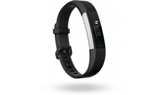 Fitbit aktiivsusmonitor Alta HR S, must