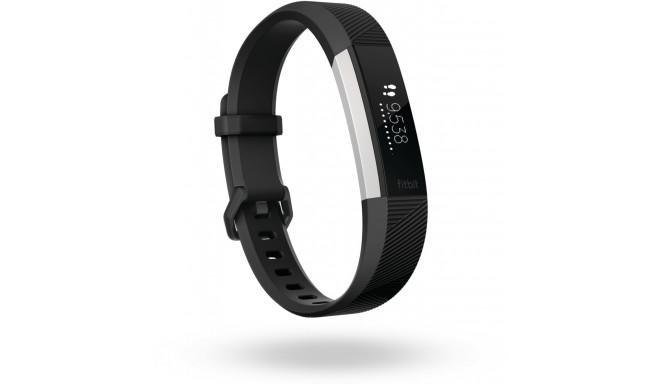 Fitbit aktiivsusmonitor Alta HR L, must
