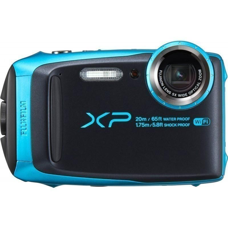 Fujifilm FinePix XP120, helesinine