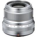 Fujinon XF 23mm f/2.0 R WR lens, silver