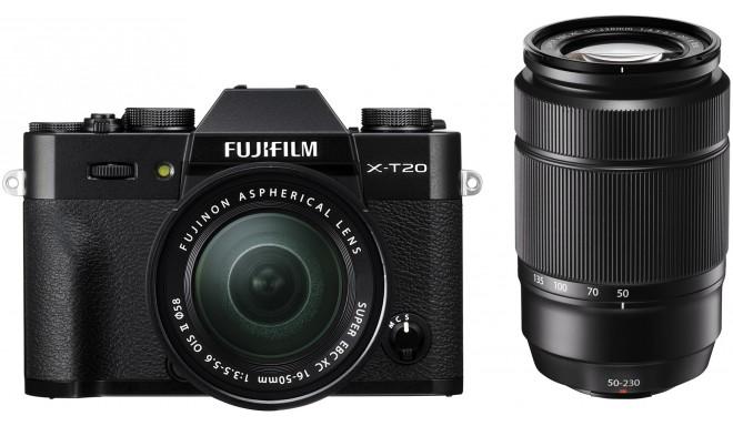 Fujifilm X-T20 + 16-50mm + 50-230mm Kit, must