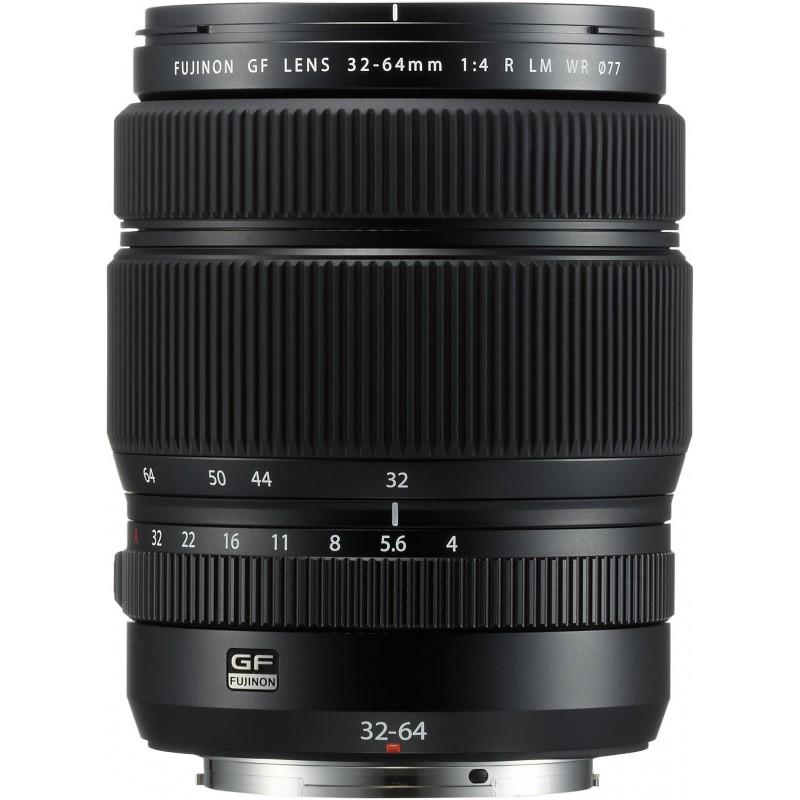 Fujifilm GF 32-64mm f/4 R LM WR objektiiv