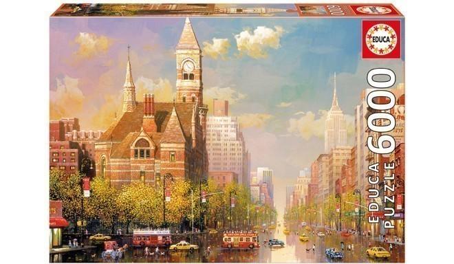 Educa pusle Pärastlõuna New Yorgis 6000tk