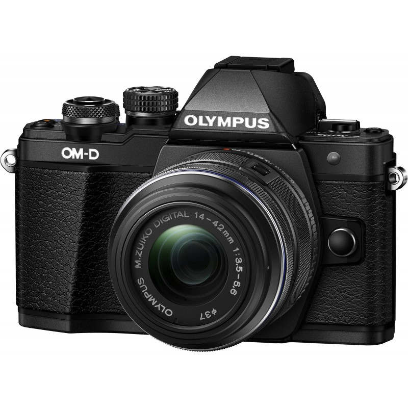 Olympus OM-D E-M10 Mark II + 14-42mm II R Kit, black