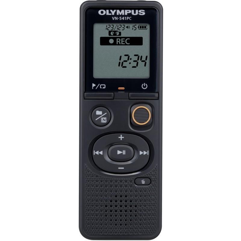 Olympus diktofon VN-541PC + mikrofon, must