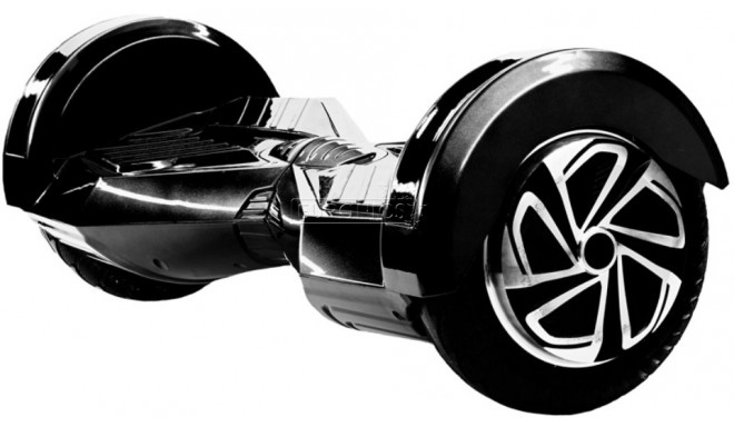 "Skymaster Wheels 8"" tasakaaluliikur, must (katkine pakend)"