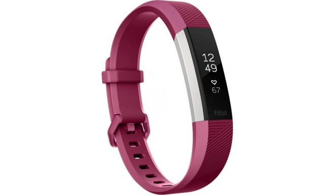 Fitbit aktivitātes trekeris Alta HR L, fuksiju rozā