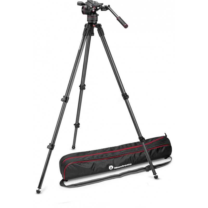 Manfrotto tripod kit Nitrotech N8 MVKN8C + CF 535