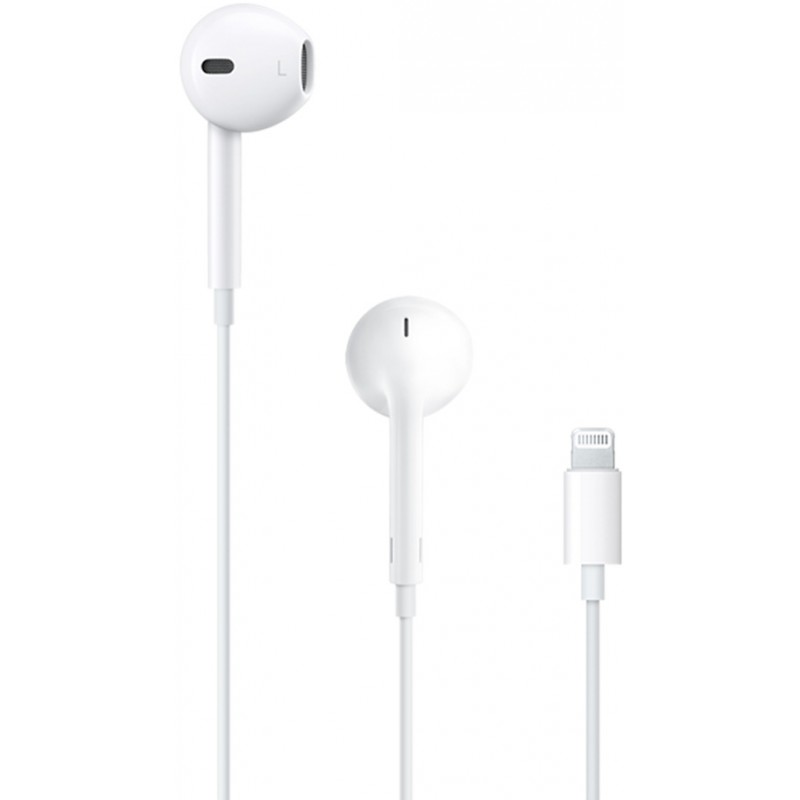 Apple headphones + microphone EarPods Lightning (MMTN2ZM/A)