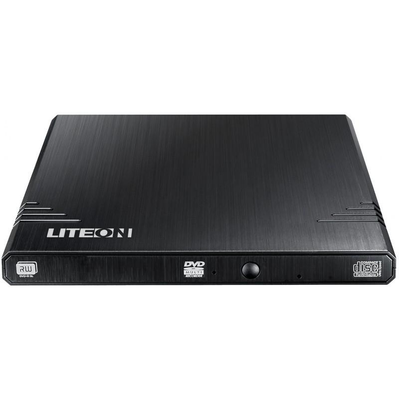 Liteon external DVD/CD writer Ext 8x USB, black (EBAU108)