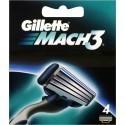 Gillette žiletiterad Mach3 4tk