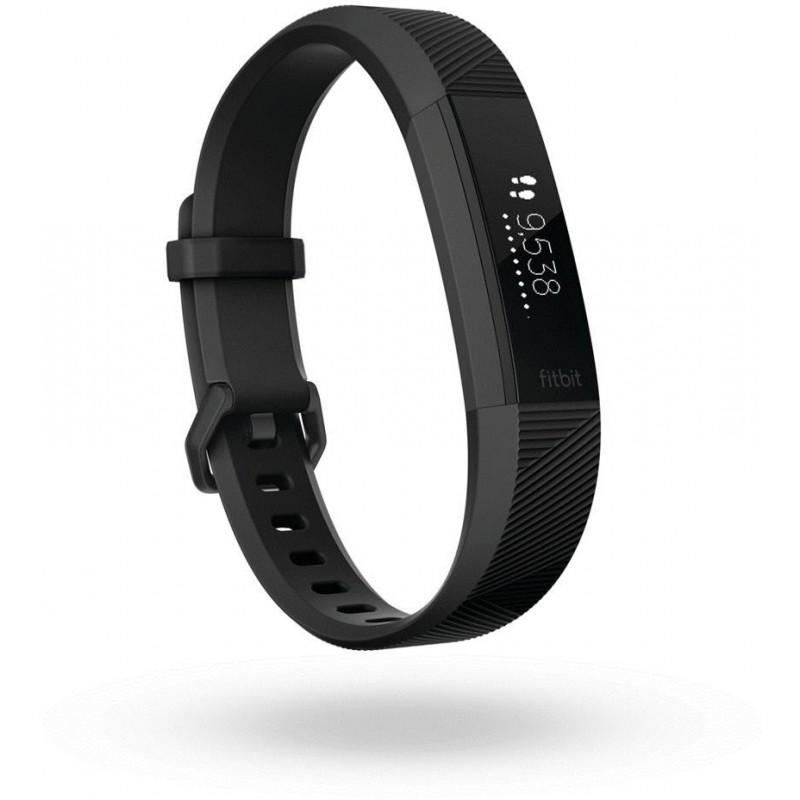 Fitbit  трекер активности Alta HR L, металлический/черный