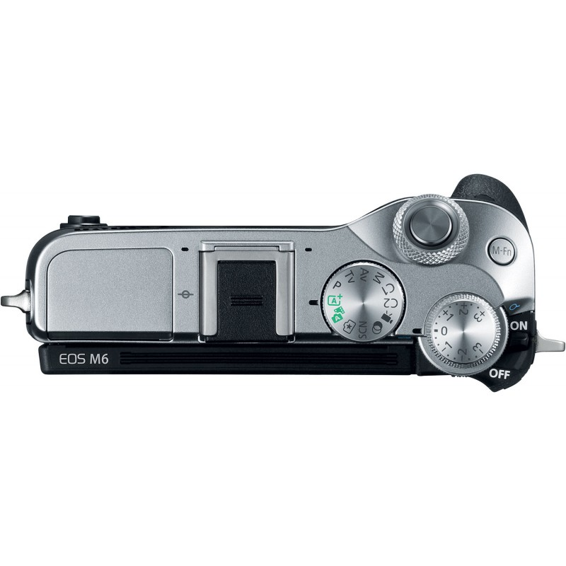 Canon EOS M6 body, silver