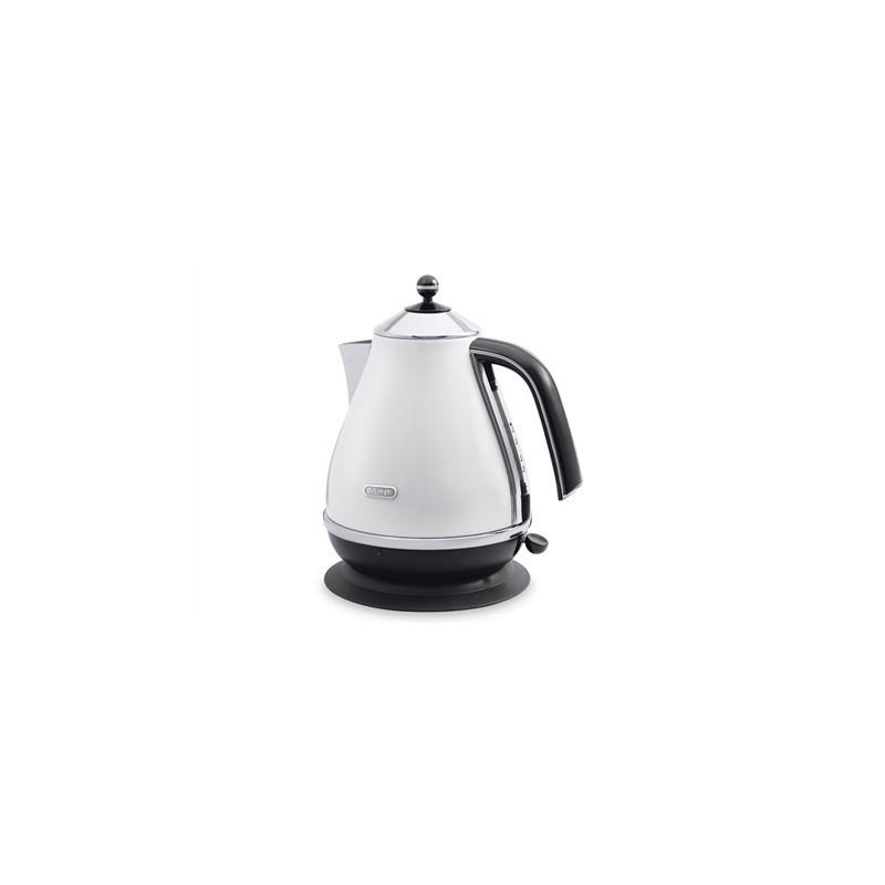 delonghi kettle kbo2001w standard kettle sta kettles photopoint. Black Bedroom Furniture Sets. Home Design Ideas