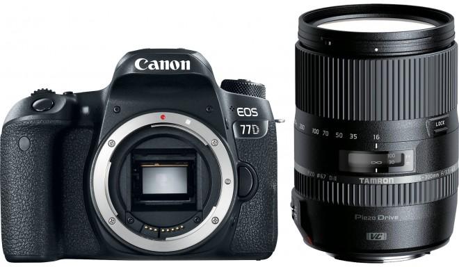 Canon EOS 77D + Tamron 16-300 мм VC PZD