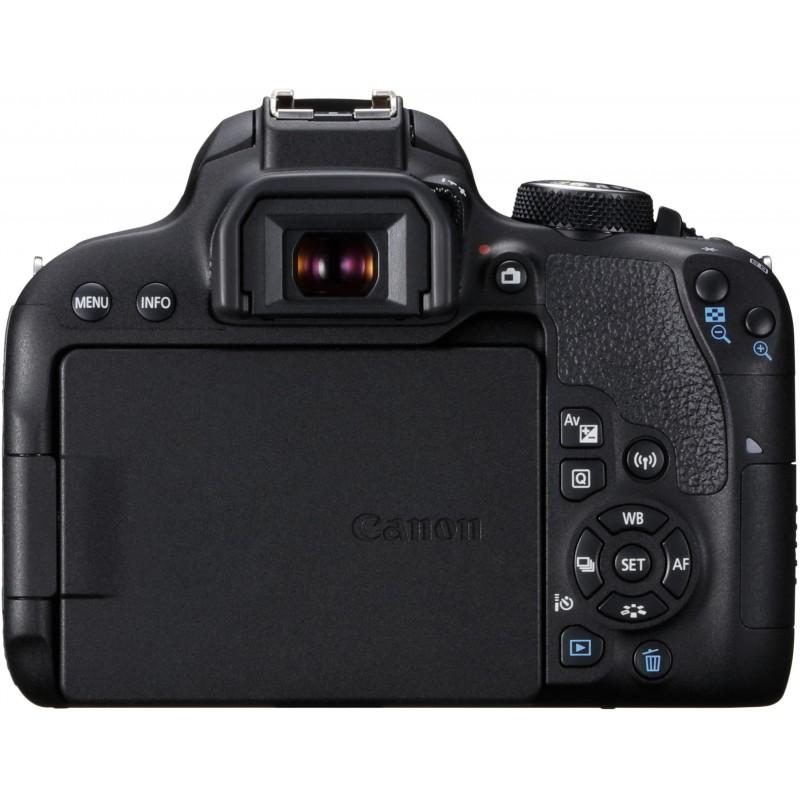 Canon EOS 800D + Tamron 18-200mm VC