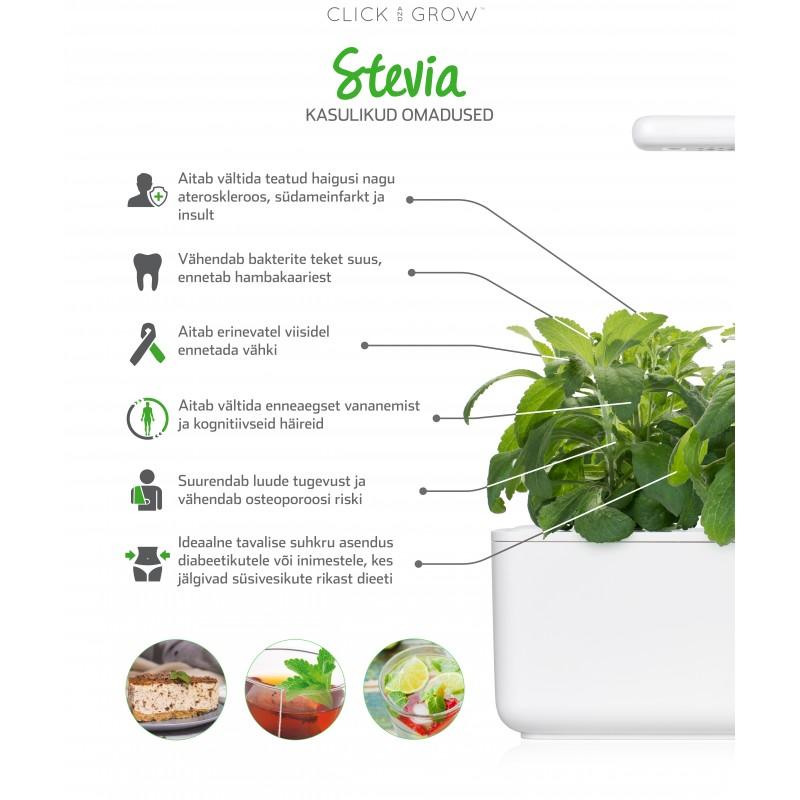 Click & Grow Smart Herb Garden кассета, Стевия (3 шт)