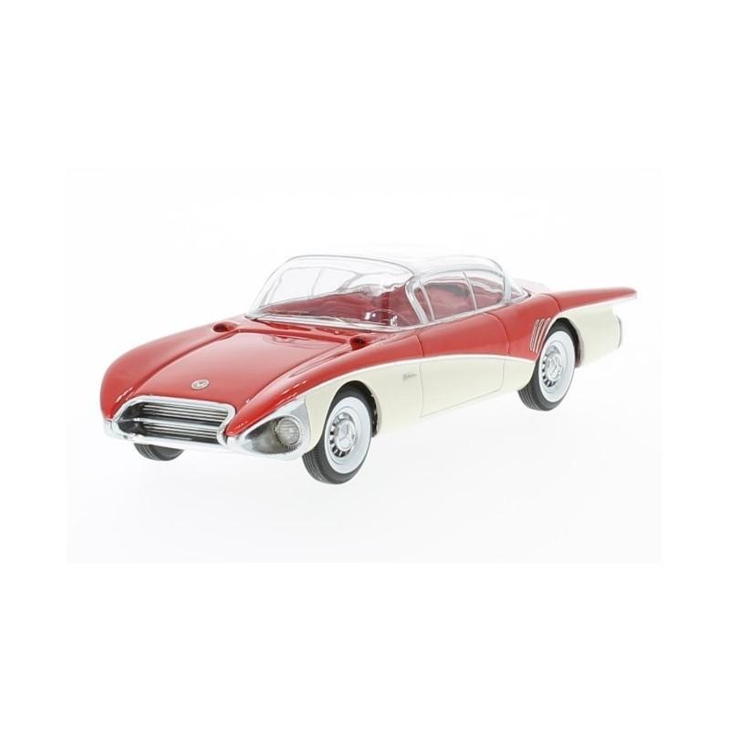 Neo Models Model Car Buick Centurion Xp 301 Concept 1956 Redwhite
