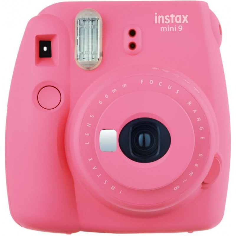 Fujifilm Instax Mini 9, flamingo pink + Instax Mini paper