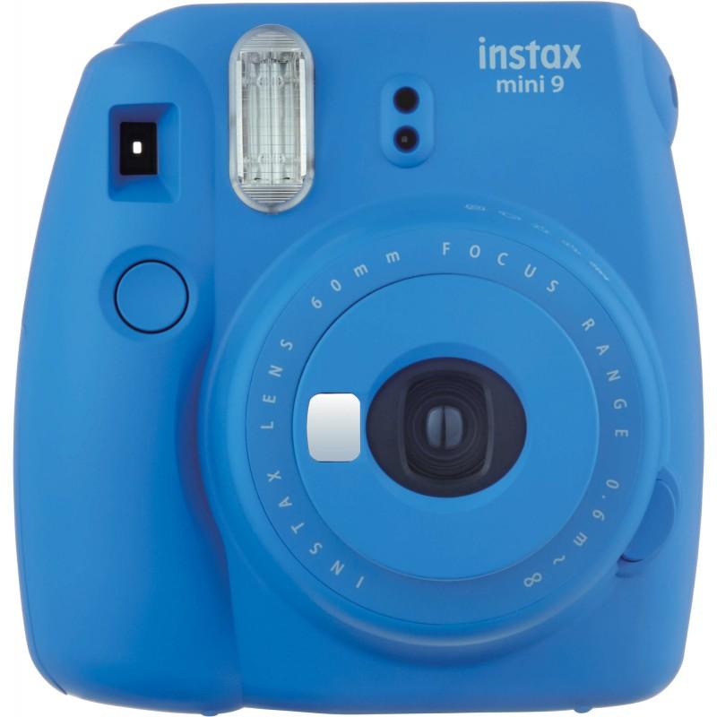 Fujifilm Instax Mini 9, cobalt blue + Instax Mini paber