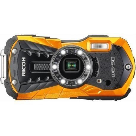 Ricoh WG-50, orange