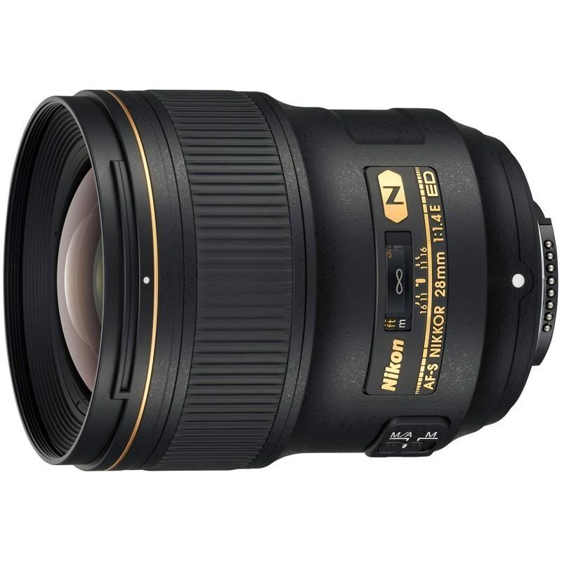 Nikon AF-S Nikkor 28mm f/1.4E ED objektiiv