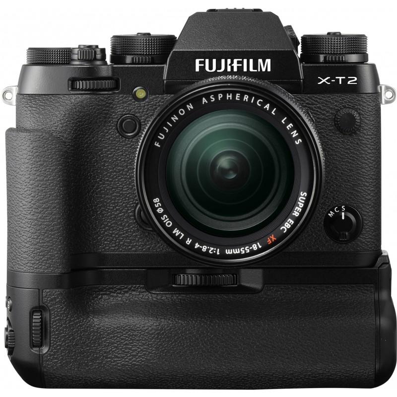 Fujifilm X-T2 + 18-55mm + akutald VPB-XT2