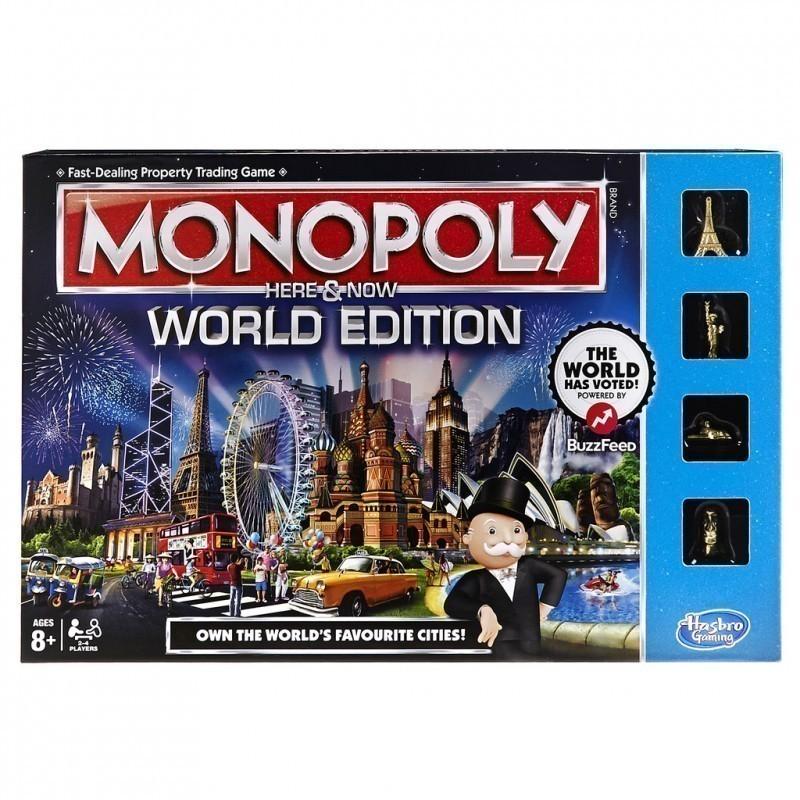 546ec72adb9 Hasbro lauamäng Monopol Siin ja praegu EN - Lauamängud - Photopoint
