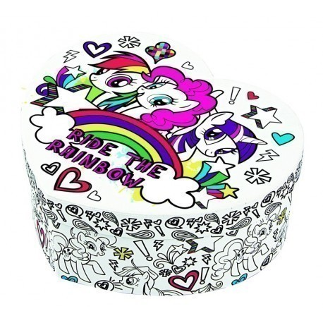My Little Pony Jewelry Box Delectable My Little Pony Decoration Kit Jewelry Box Crafts Photopoint