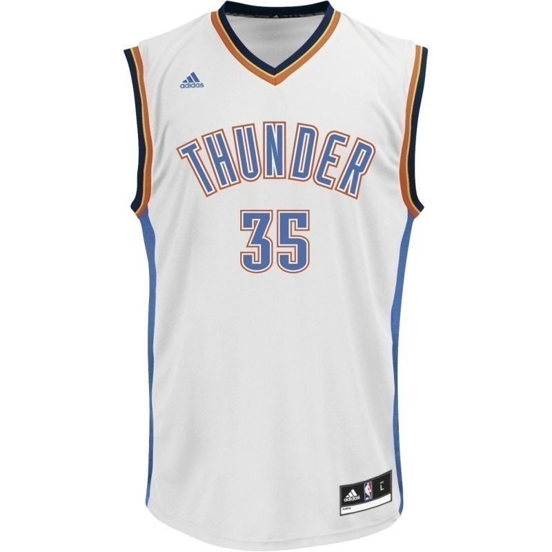 buy online ac9d2 bd0f5 Basketball Shirt adidas Replica Jersey Oklahoma City Thunder Kevin Durant  L71438
