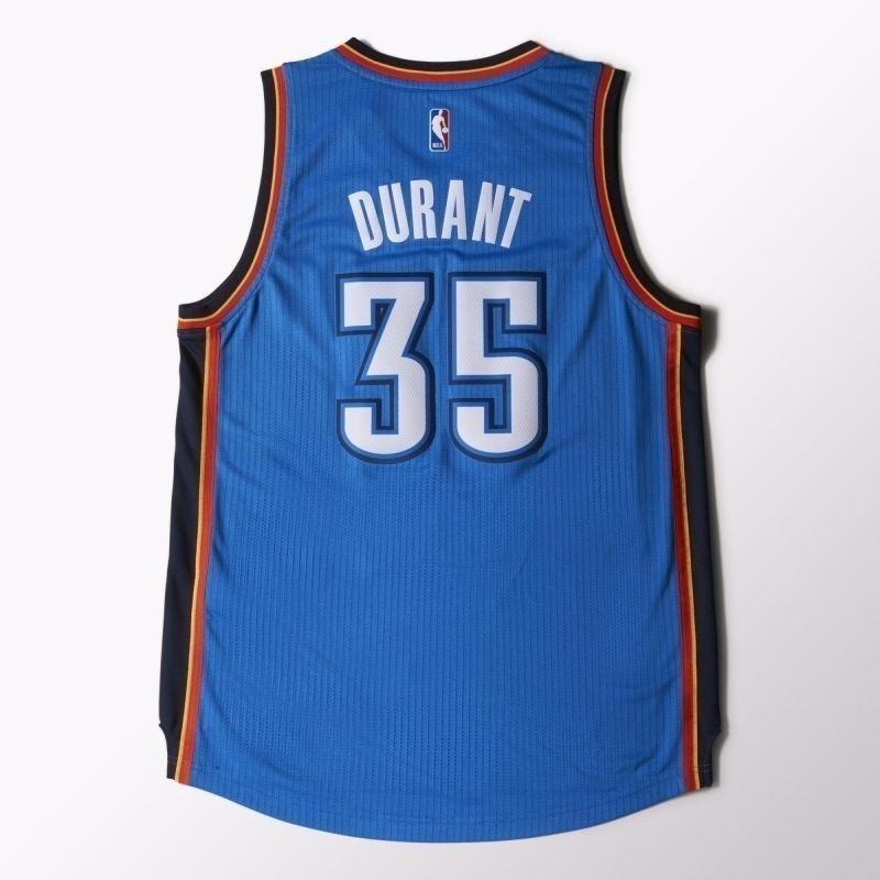 online store 26598 29fb1 Men's Basketball Shirt adidas Swingman Oklahoma City Thunder Kevin Durant M  A46194