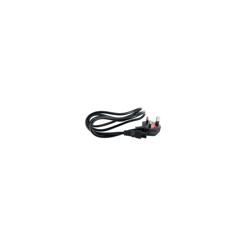 4World Computer 3-wire power cord UK 1,5m - Cables - Photopoint