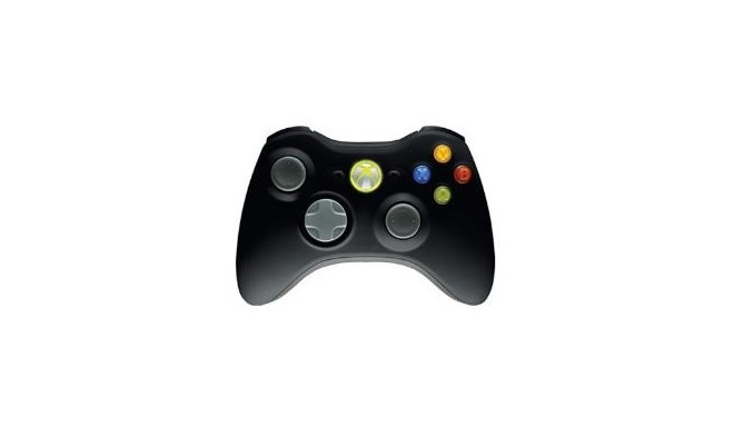 Xbox 360 Wireless Controller New Black + PC USB Adapter - Joysticks ...